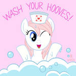 Wash Your Hooves! by JazzyTyfighter