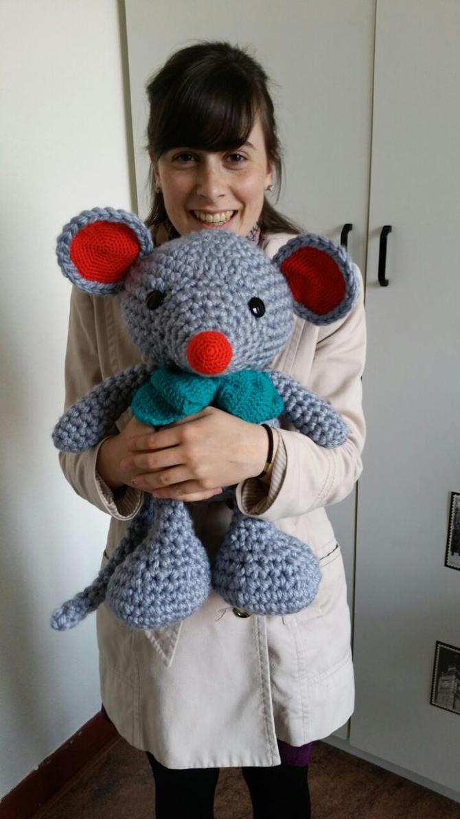 Crochet Mouse by jolieke10