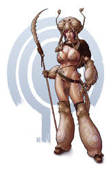 umber huntress by johntylerchristopher