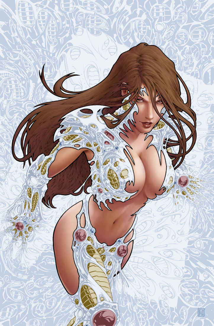 witchblade 131 cover c by johntylerchristopher