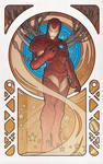 IronMan by Design: Art Nouveau