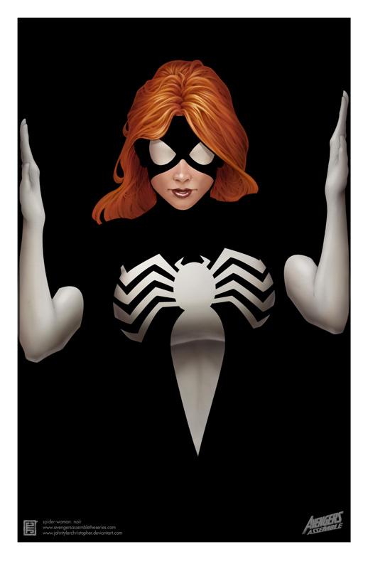 spiderwoman-avengers assemble by johntylerchristopher