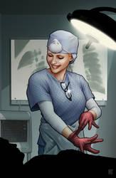 captain america - nurse by johntylerchristopher