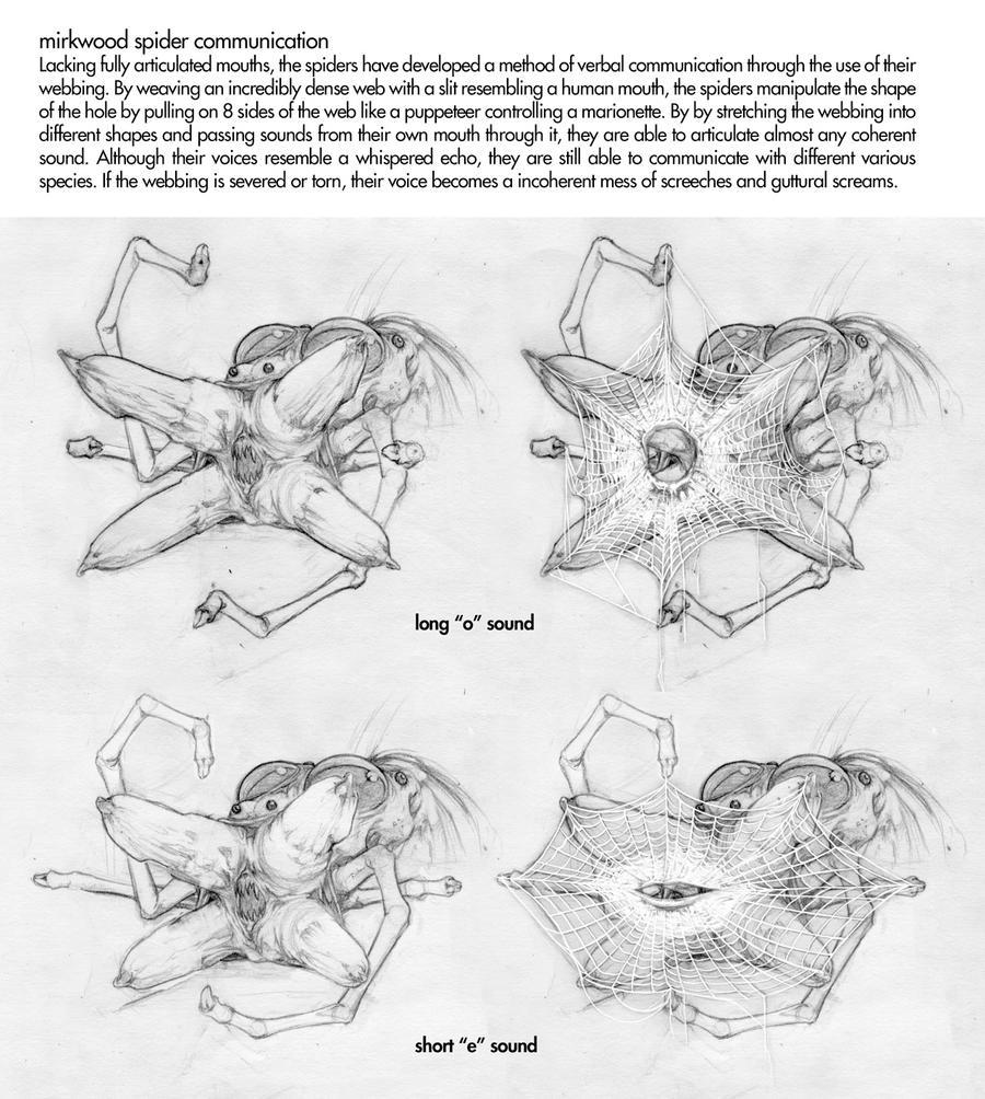 mirkwood spiders 04 by johntylerchristopher