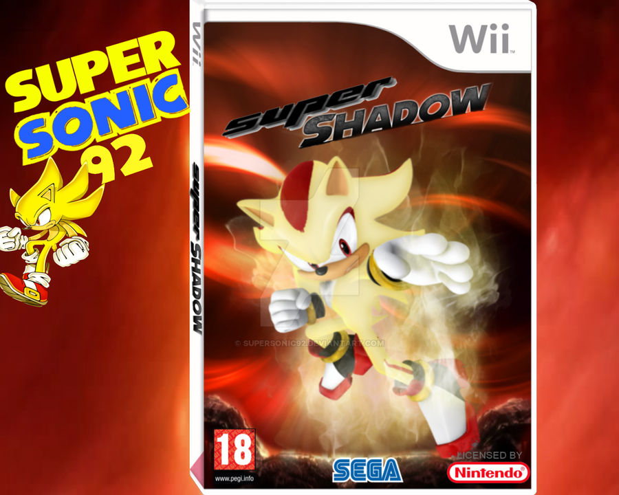 Super Shadow Wii Box Art