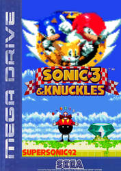 Sonic 3 And Knuckles Box Art