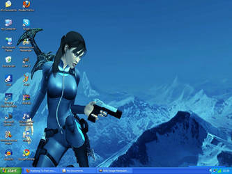Lara CroftWallpaperDesktopshot
