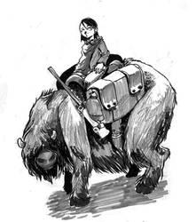 Allis on an Ulk by Nanimo