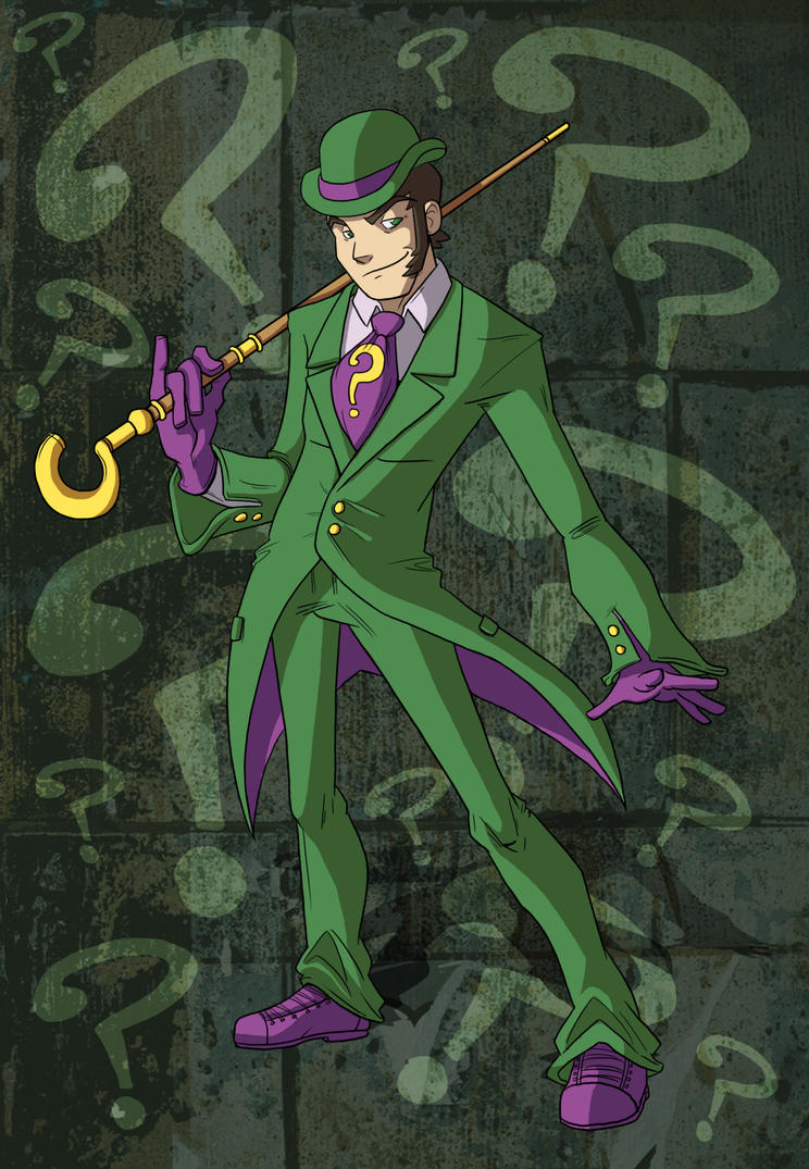 Riddler Dan by CauseImDanJones