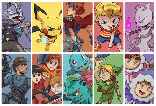 The Rest of the Smash Crew!