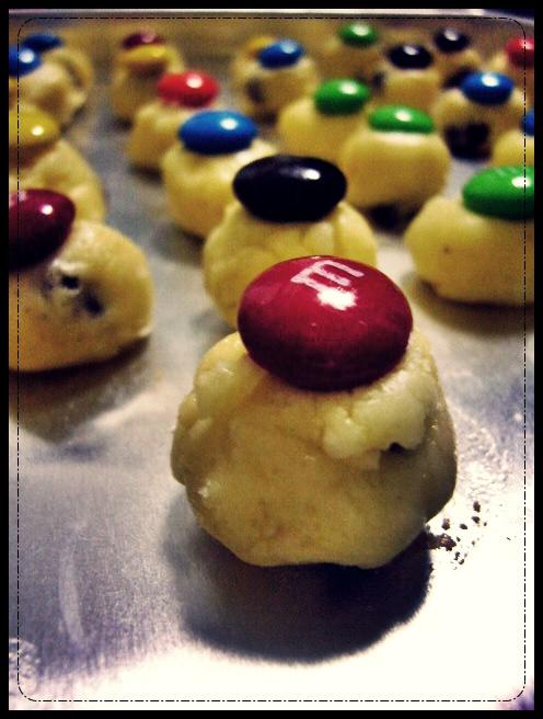 M n M Cookies by Olivares