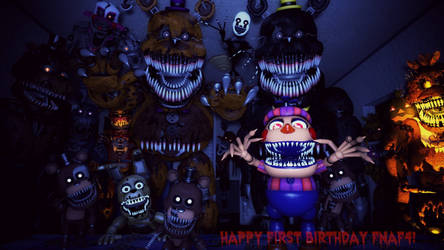 (Old) FNaF4 first anniversary.
