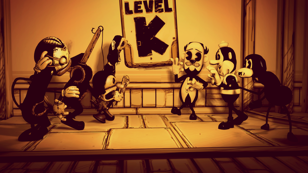 The Butcher Gang meet.. the Butcher Gang? by RedGekkouga