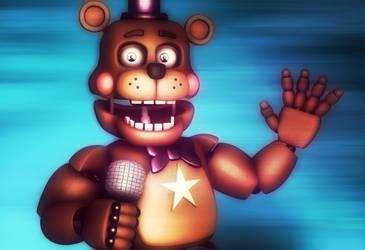 Rockstar bear by RedGekkouga