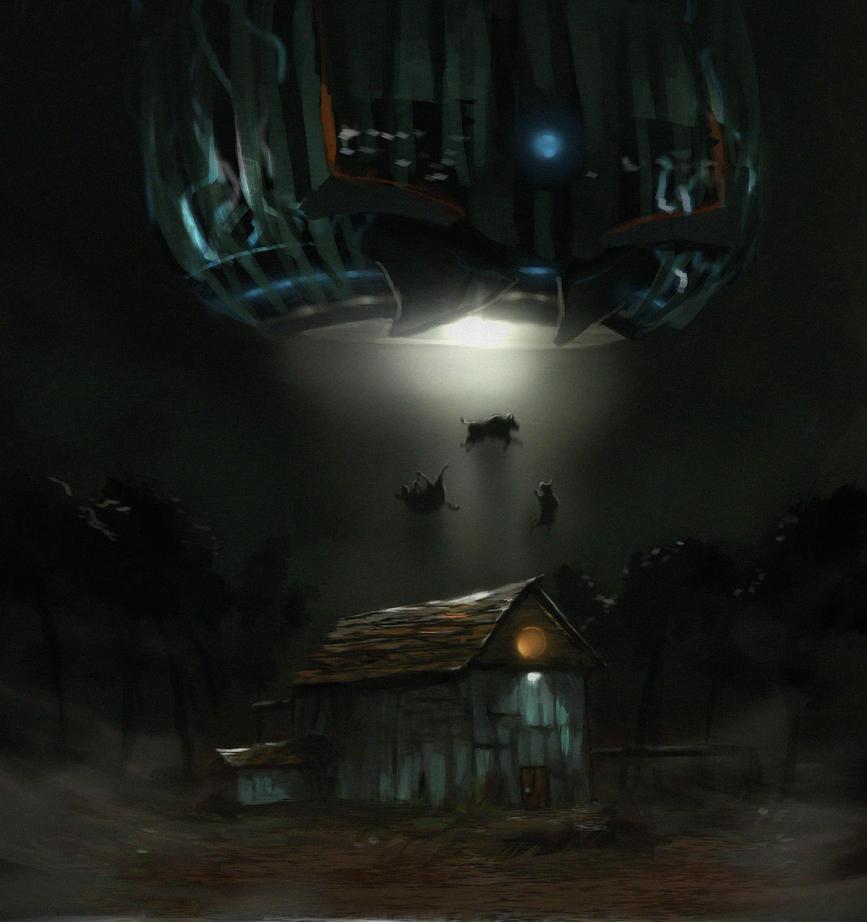 Gawd dam aliens by ChrisJRees