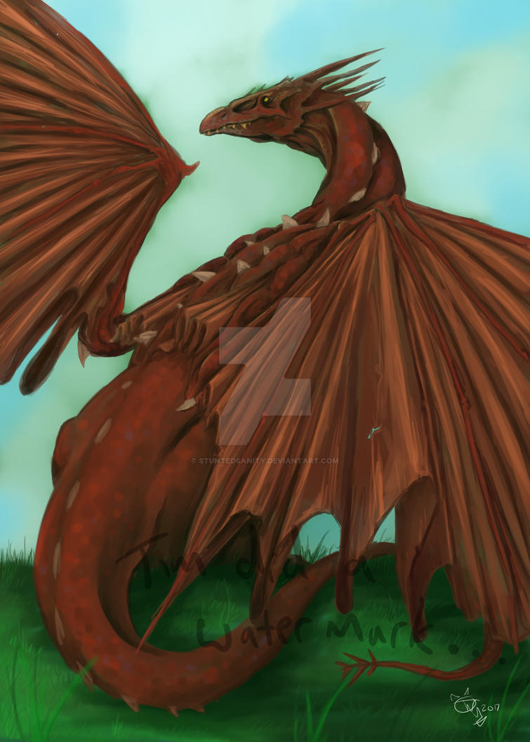 Welsh Dragon by stuntedsanity
