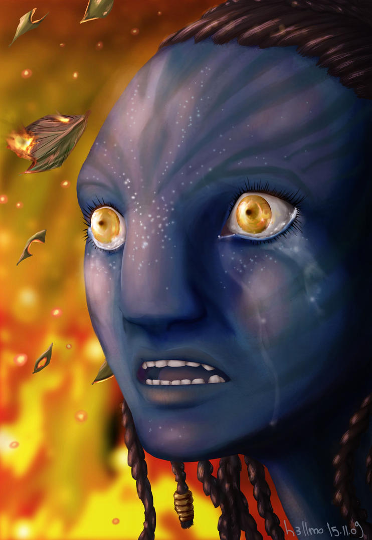 avatar   neytiri by theoblade on deviantart
