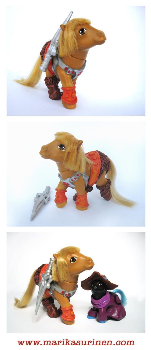 My Little He-Man by Spippo