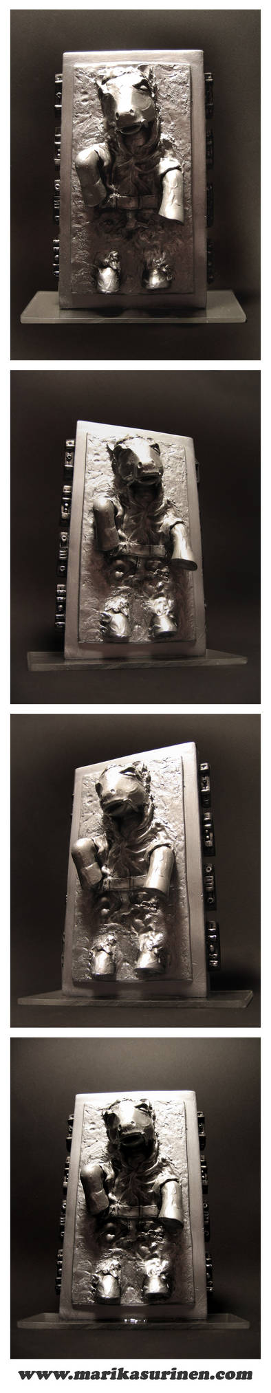 My Little Solo in Carbonite by Spippo