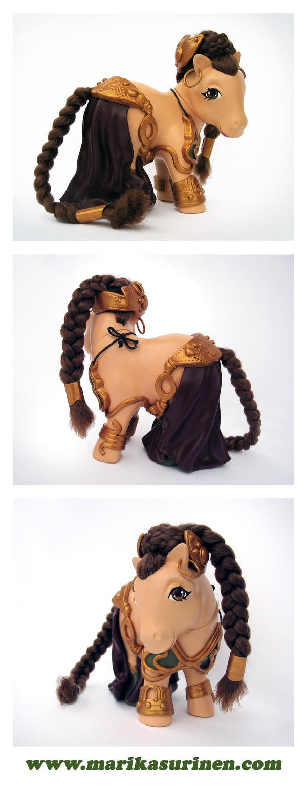 My Little Slave Princess Leia by Spippo
