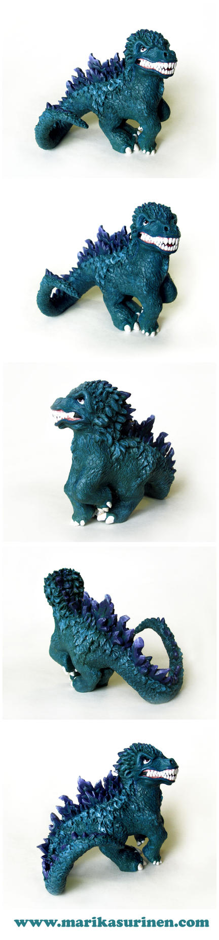 My Little Godzilla by Spippo