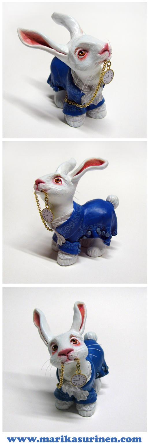 My Little White Rabbit by Spippo
