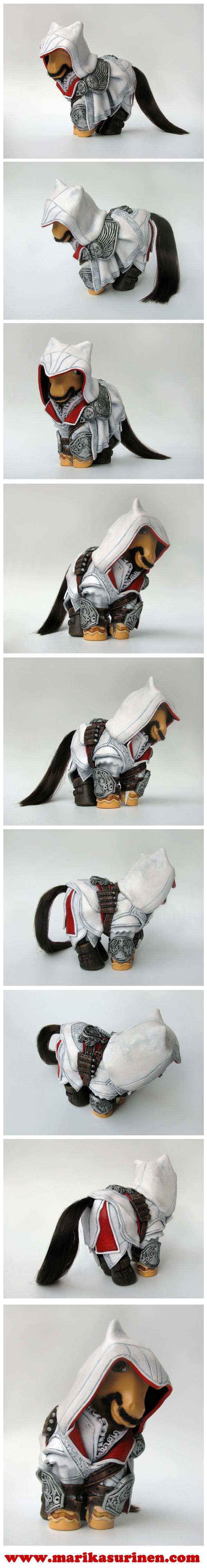 My Little Ezio Auditore by Spippo