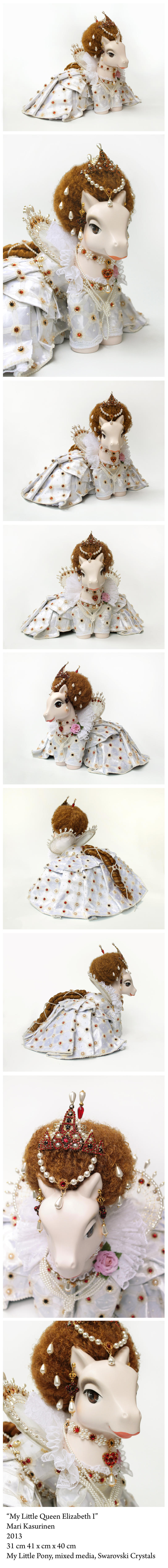 My Little Queen Elizabeth I by Spippo