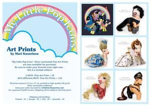 My Little Pop Icons - Fine Art Prints