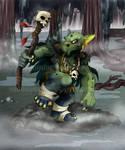 Commission:  Goblin (coloured)