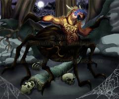 Commission:  Arachnathope (coloured)