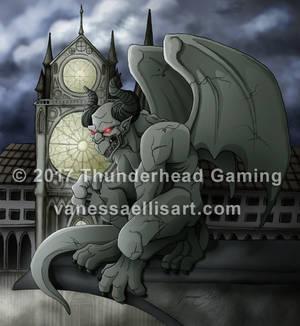 Commission:  Gargoyle
