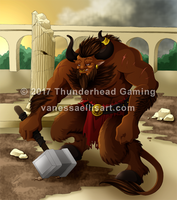 Commission:  Minotaur