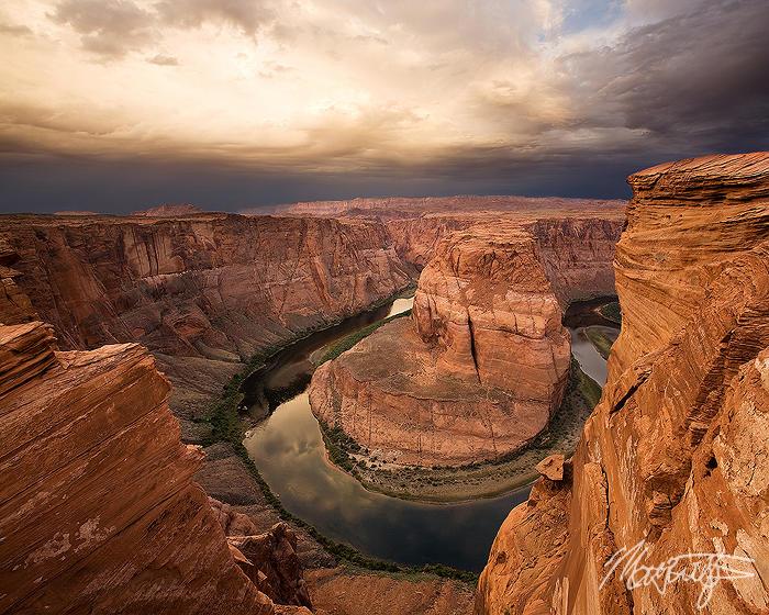 Desert Sunrise over Horseshoe Bend by MattTilghman