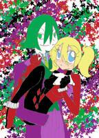 Joker and Harley by katestrife