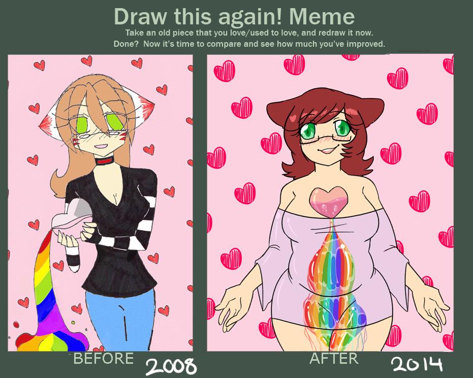 Draw This Again Meme by katestrife