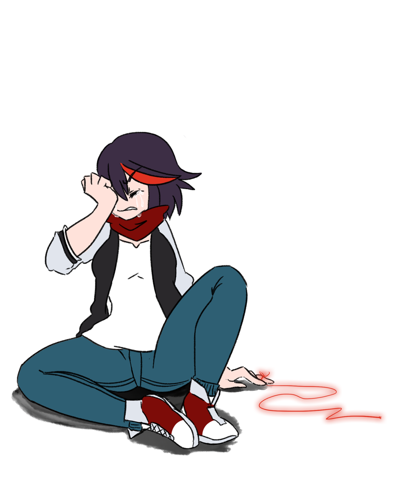 The Red String of Fate... by katestrife