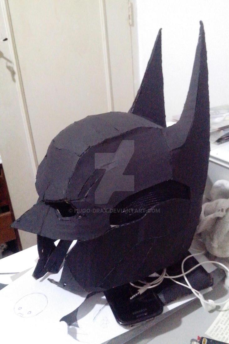Arkham Knight Papercraft Helmet Paintjob By Hugo Drax On Deviantart