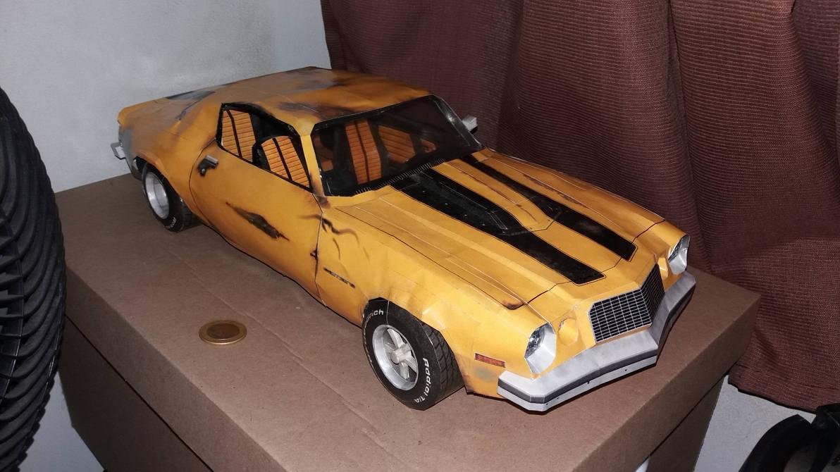 Transformers - 1976 Camaro Papercraft by hugo-drax on DeviantArt