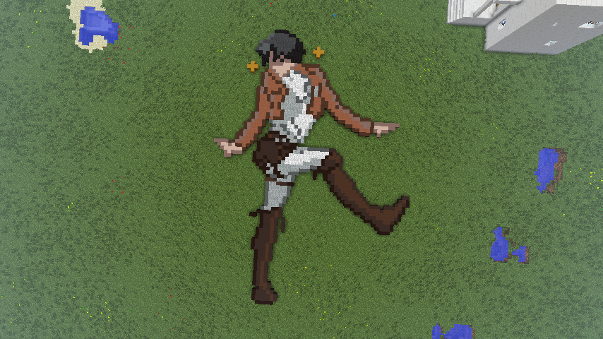 Levi bein' fabulous in Minecraft by Chenkama