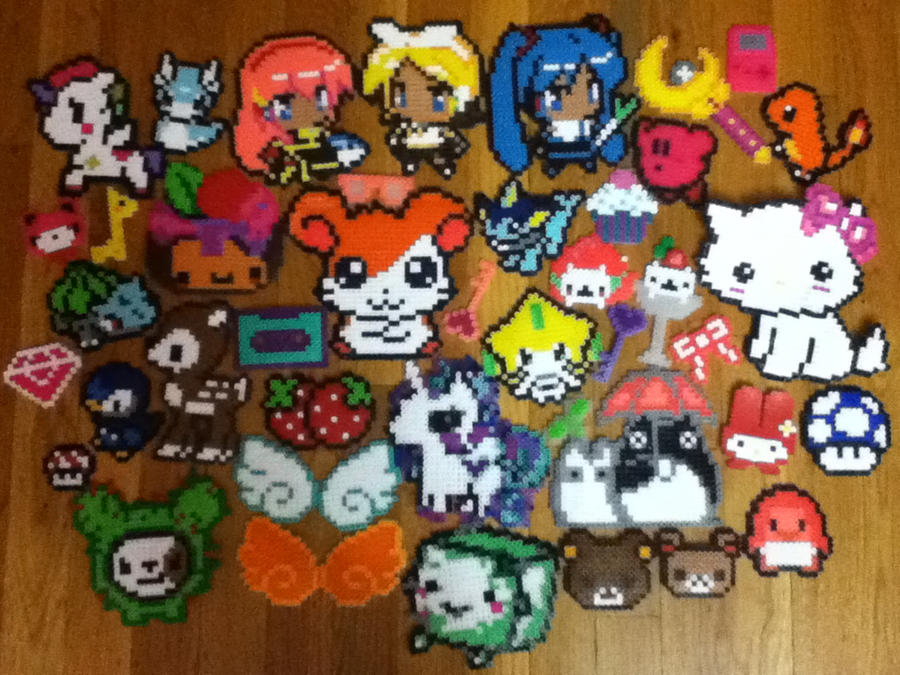 Perler and Hama Beads Creation by icaaaxo
