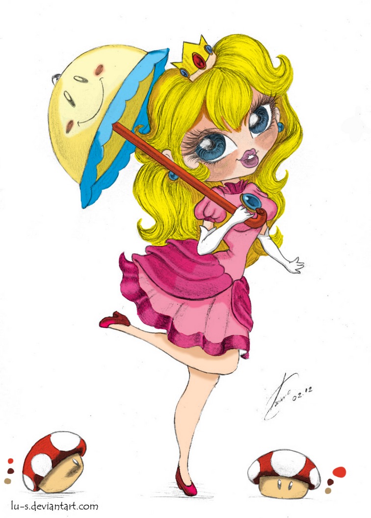 Princess Peach finished by starlightlynn30
