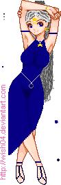 Starlight Warrior Saiyan by starlightlynn30
