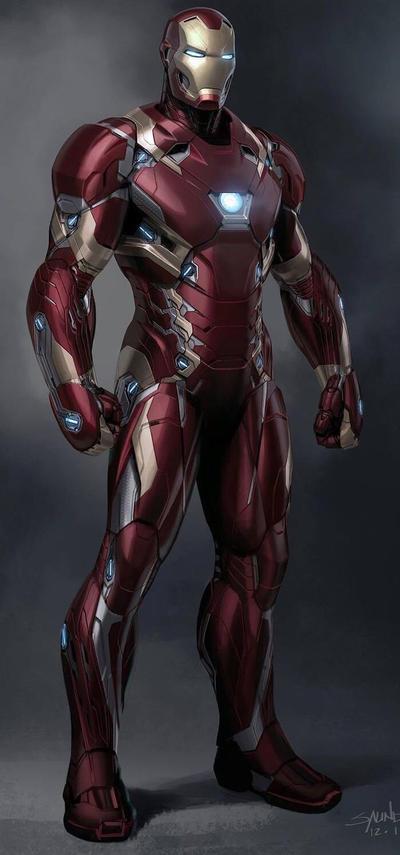 Awesome Iron man. by devonw