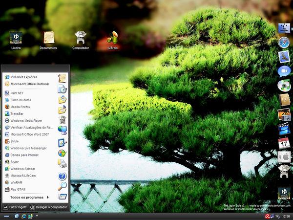 The Asian Style Desktop