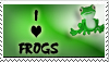 I love frogs stamp by ExDxLxT