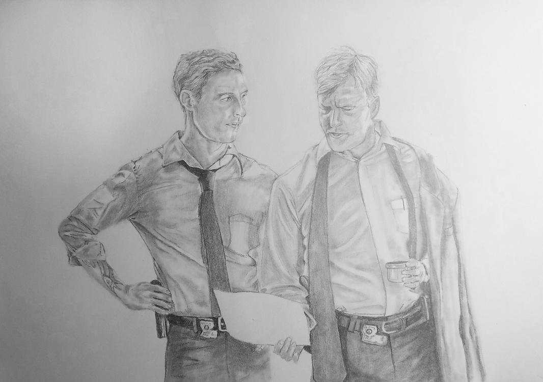 true detective pencil drawing by thanatasia666