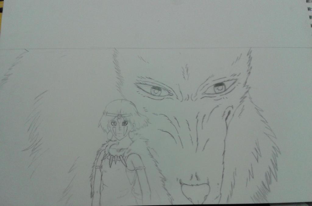 princess mononoke wolf god
