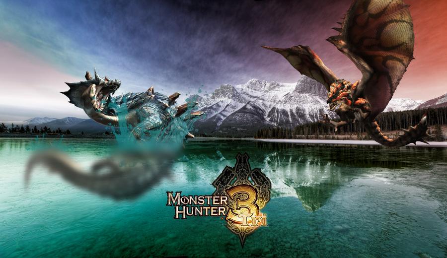 Monster Hunter 3 Ultimate Lagiacrus Wallpaper