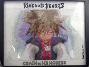 Sora Cross stitch Chain of Memories
